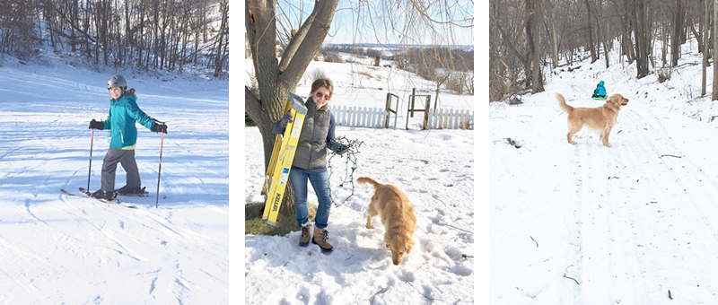 Winter sledding & outdoor fun