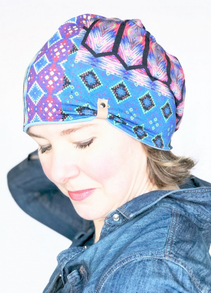 slouchy hat reversible