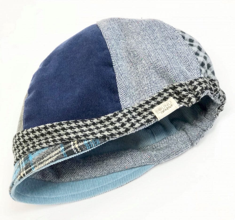 patchwork hat for women, womans large hat