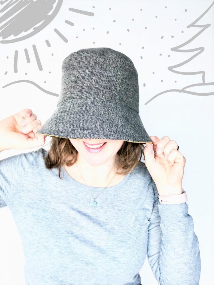 women's winter bucket hat