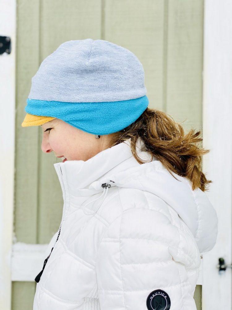 women's winter fleece hat